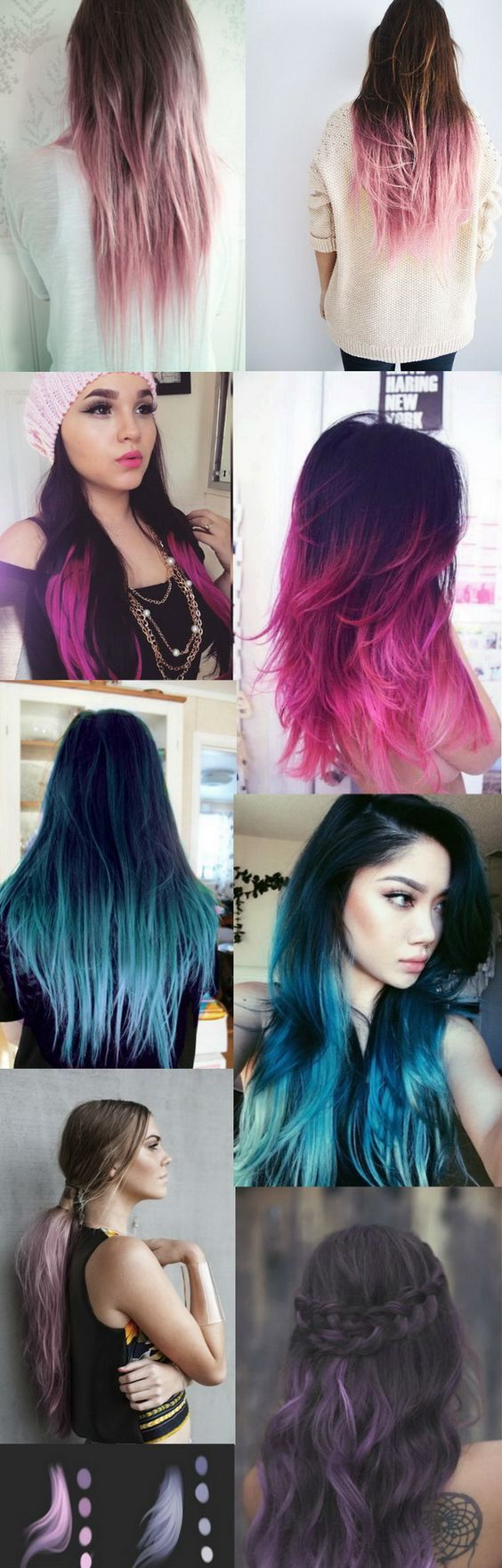 stunning pastel hair color ideas styleclothes pinterest