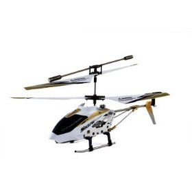2012 Syma Newest Design - Syma S107G 3 Channel RC Radio Remote Control Helicopter with Gyro - White, (syma)