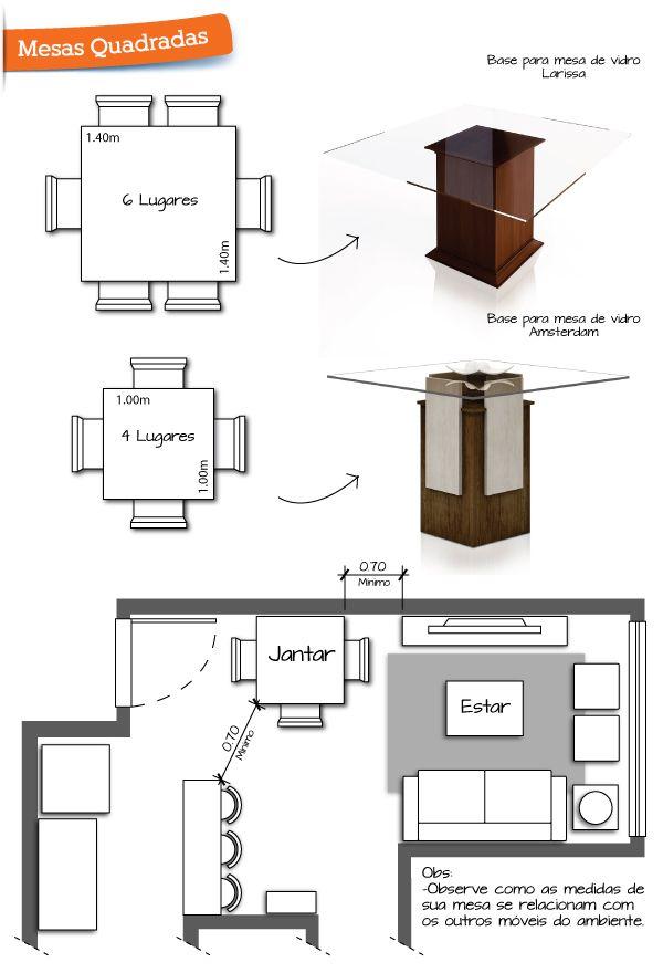 Qual O Formato De Mesa De Jantar Ideal Para A Sua Casa Salas
