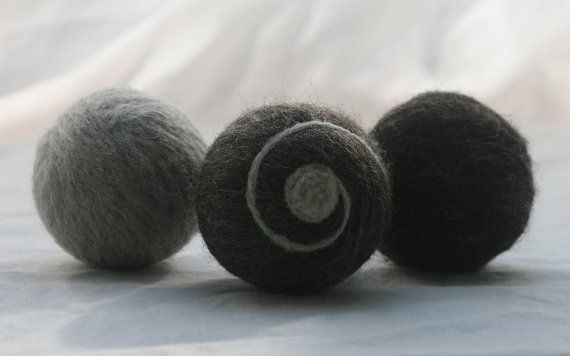 Use felted dryer balls instead of dryer sheets.