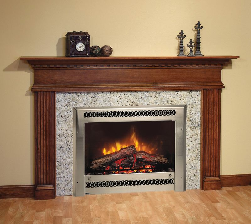 Charmglow Electric Fireplace with Metal Screen | Charmglow ...