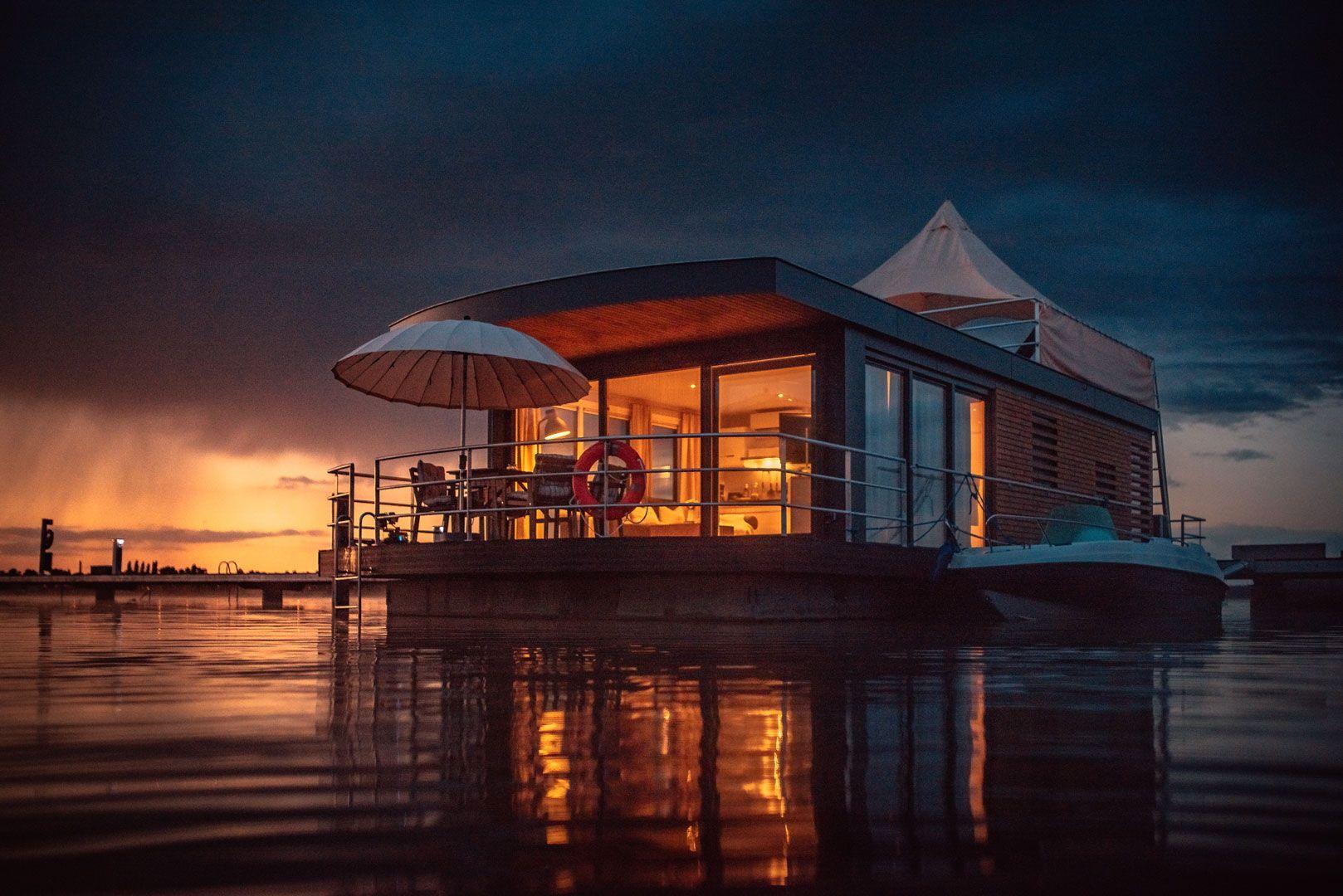Schwimmendes Haus kaufen floating 442 Ostsee, Bayern