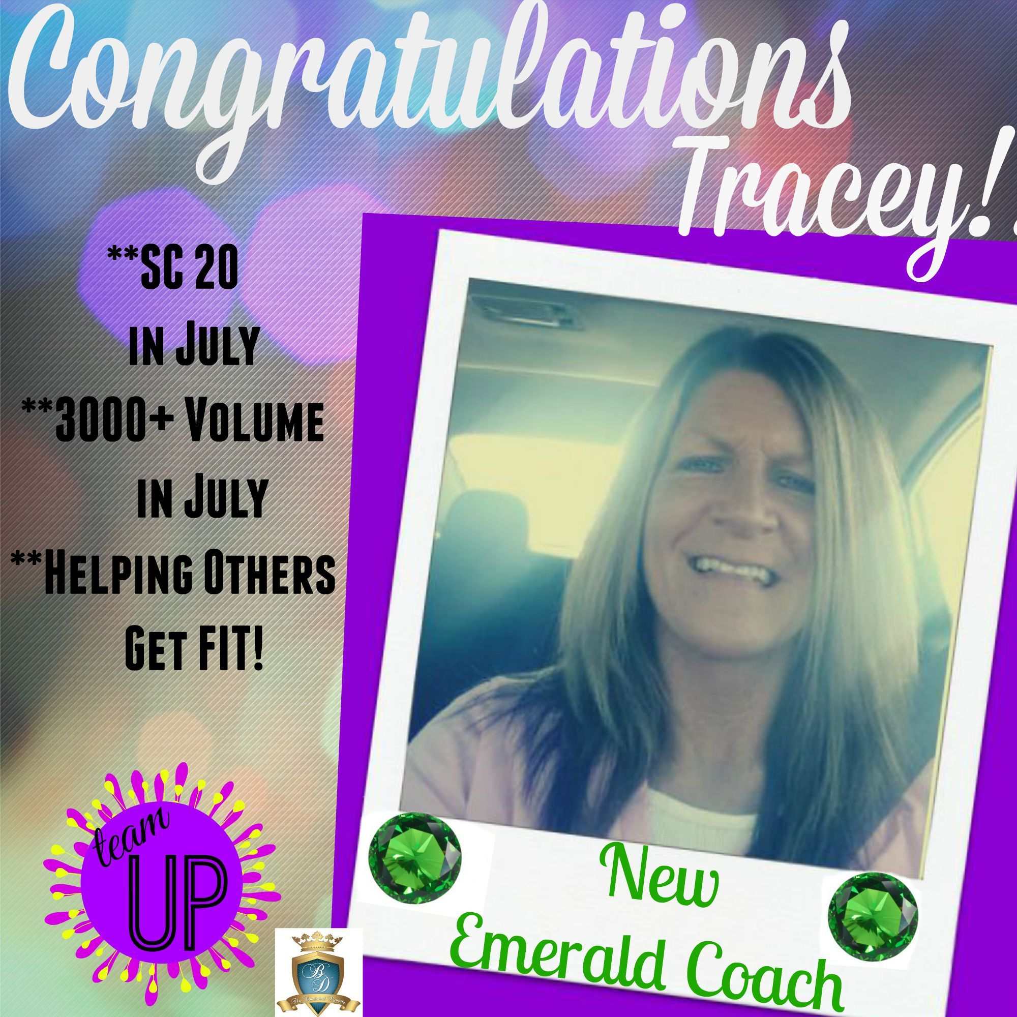 team UP is beyond excited to announce it's newest EMERALD ...