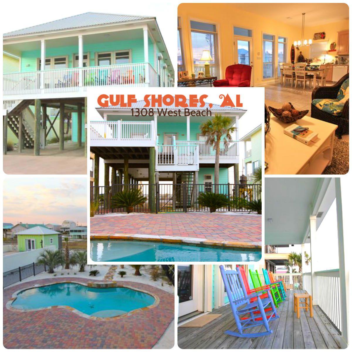 Gulf Coast Beach Houses: **SOLD** Gulf Shores Beach House Across The Street From