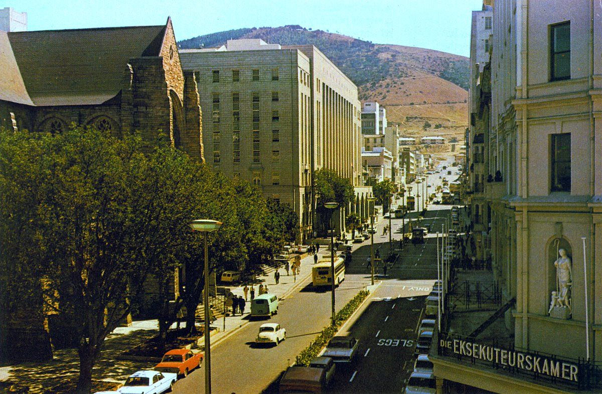 Wale str. 1967 Cape town south africa, Cities in africa