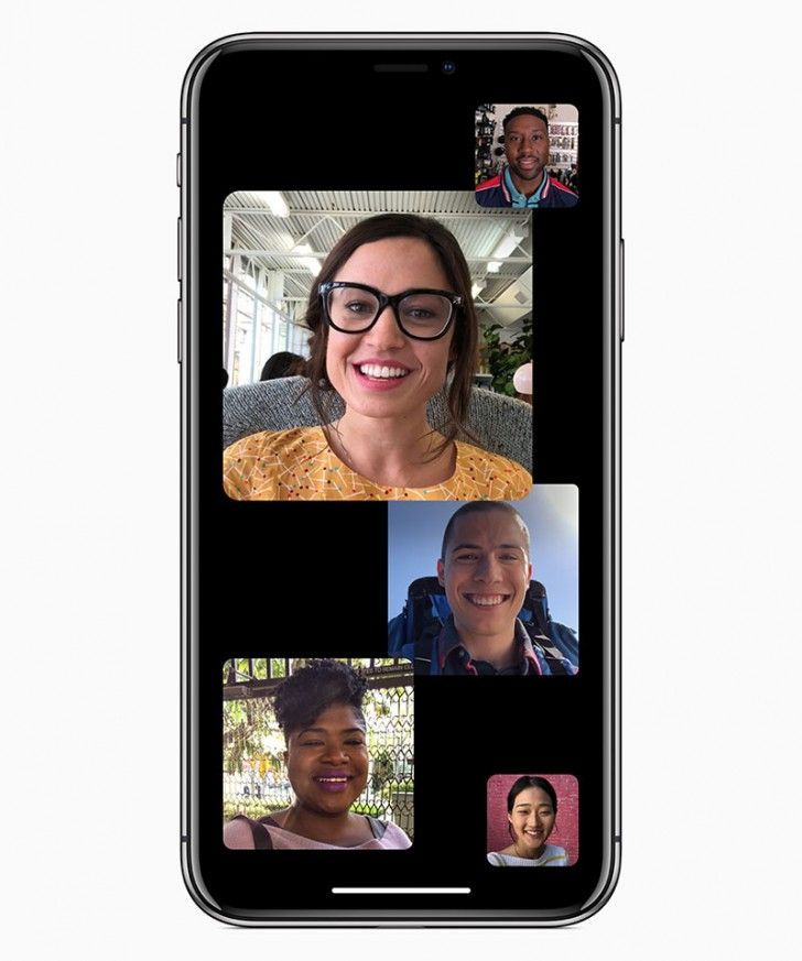 Group FaceTime won't be coming in the initial release of