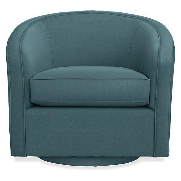 Amos Custom Swivel Chair Modern Accent Lounge Custom Chairs