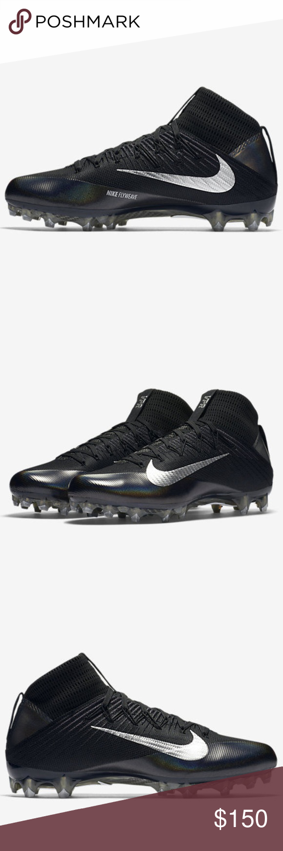 4028dd04bf0d Nike Vapor Untouchable 2 Carbon Football Cleats Nike Vapor Untouchable 2  Carbon Football Cleats Black 824470-002 Men's Size 15 Brand New, Ships  without ...