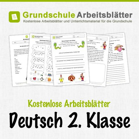 kostenlose arbeitsbl tter und unterrichtsmaterial f r den deutsch in der 2 klasse in der. Black Bedroom Furniture Sets. Home Design Ideas