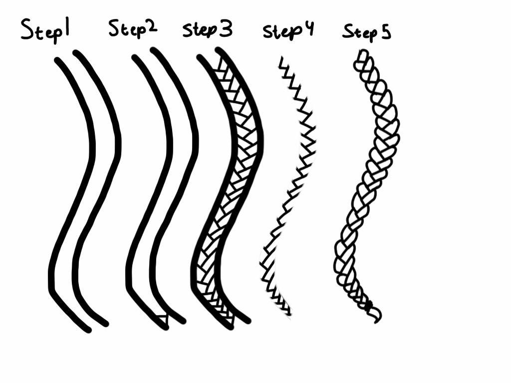 how to draw braids tutorial by sonyasworldsdeviantartcom