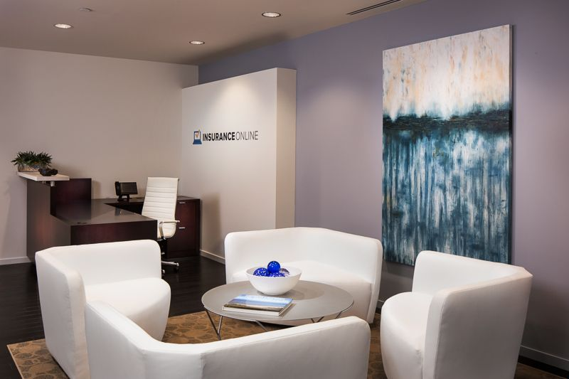 Office Interior Design Of A Modern Startup Company In OC