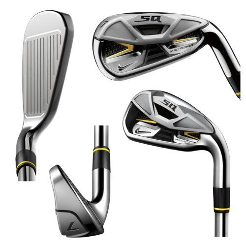 NIKE GI7114-R Machspeed Iron Set 4-AW Steel A radical new construction  method combined with a hot, thin alloy face creates the fastest Nike iron  ever.