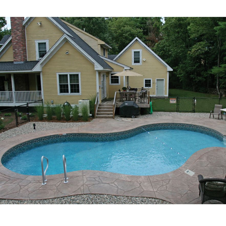 14 X 28 Ft Mountain Lake Inground Pool Complete Package
