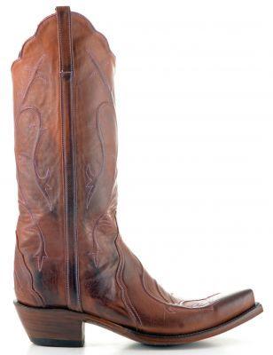 Womens Lucchese Triad Boots Tan