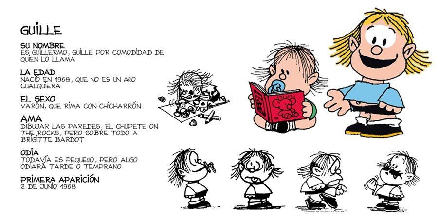 TODA Mafalda. Los personajes de la tira. Mafalda