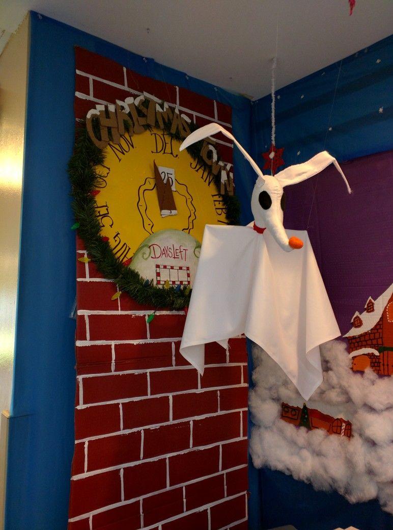 Nightmare Before Christmas Door Decorations Halloween