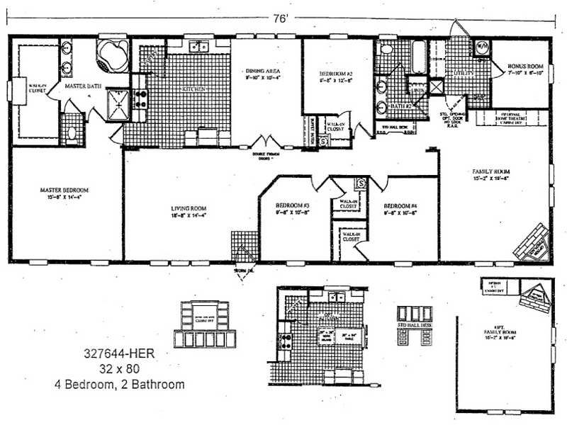 3 bedroom double wide mobile home floor plans http 3 bedroom modular home floor plans