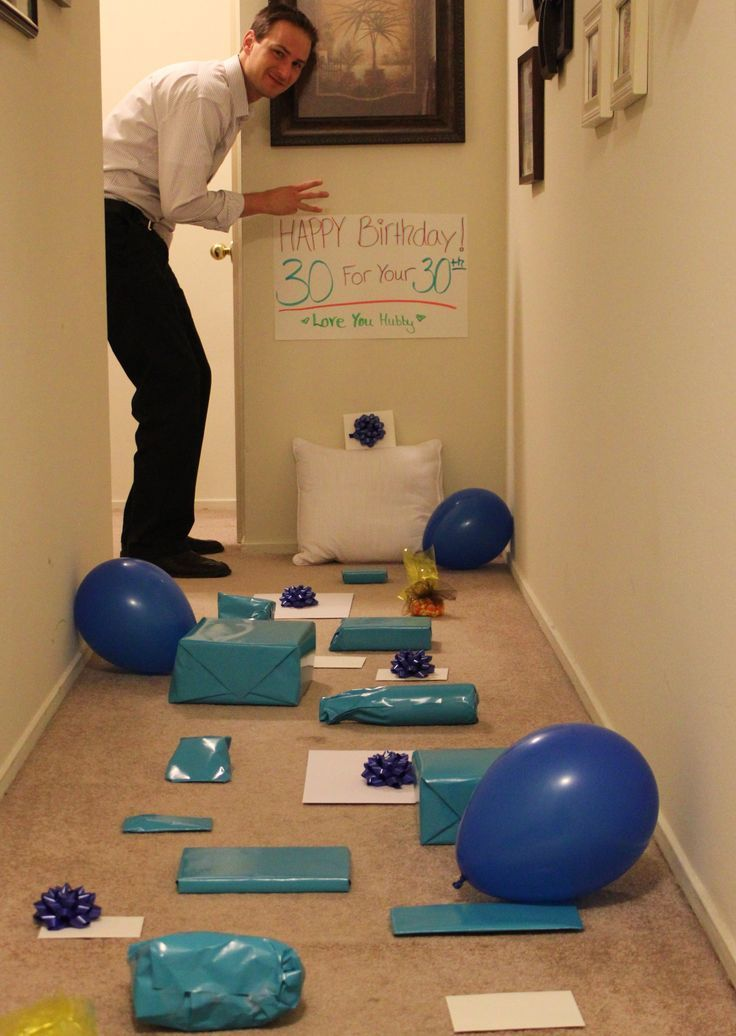 My Husband, Ryan turned 30 last week. Prior to his ...