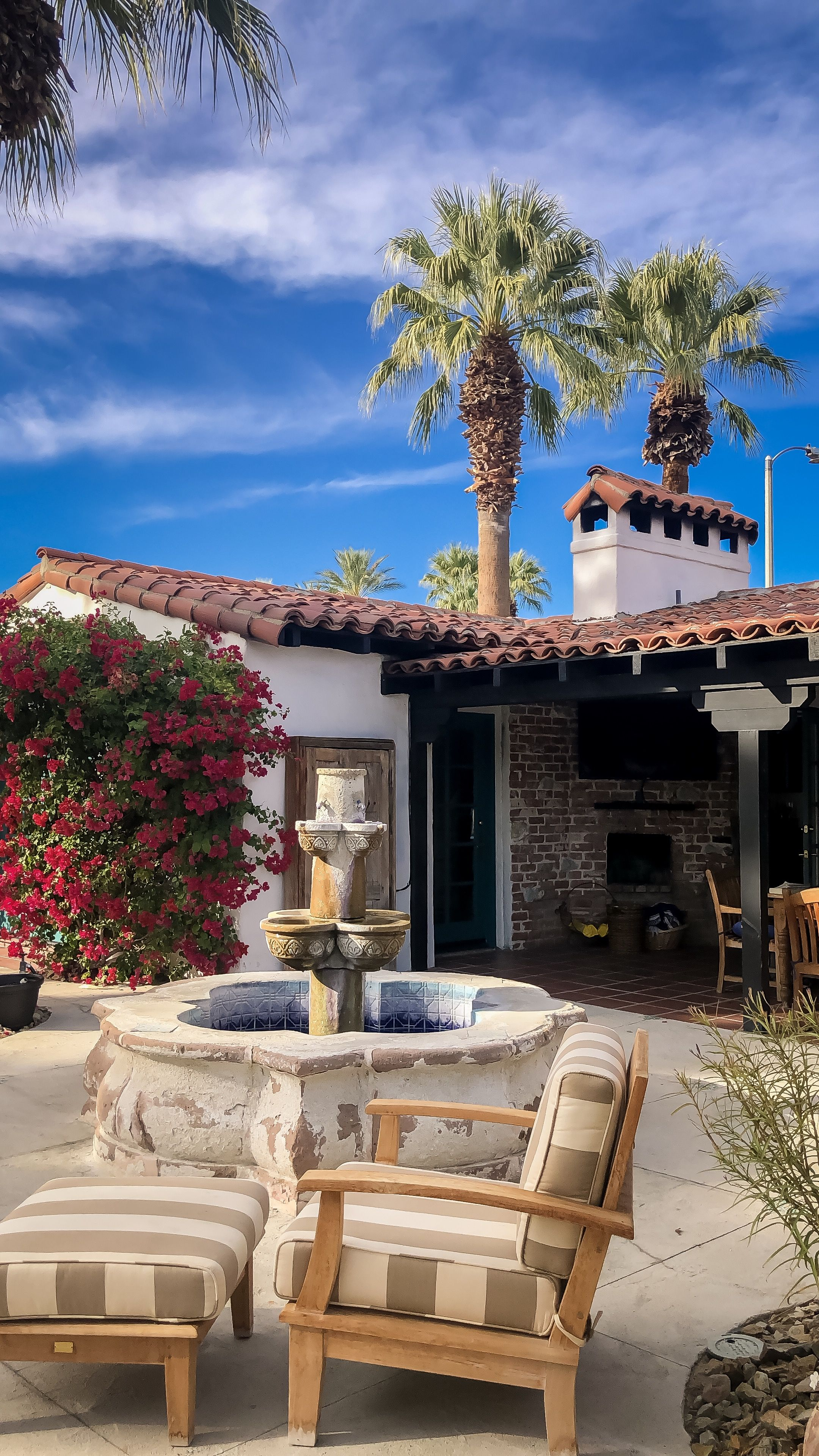 The Lucy House Central To All Good Things Palm Springs This Spanish Influenced Villa Offers An Esc Adventure Travel California Travel Luxury Travel