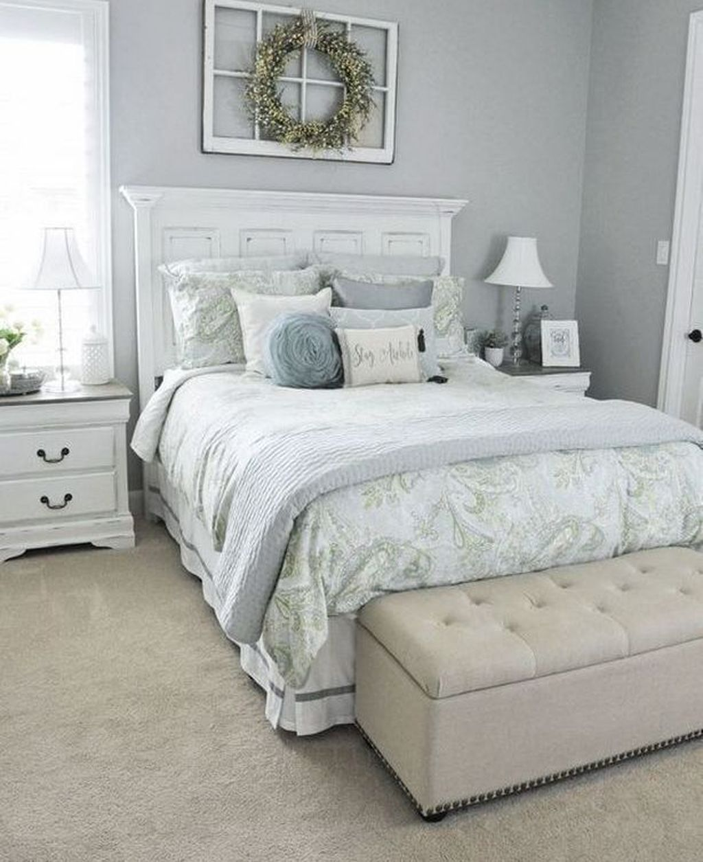 Tiny Master Bedroom Decorating Ideas Pic 012: 48 Popular Small Master Bedroom Makeover Ideas