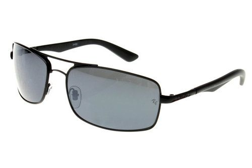 rb3460  Ray Ban Ativo Estilo de vida RB3460 Oculos de Sol Preto Quadro ...