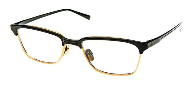 Triumph Optical Senator Mens Eyeglasses Black /& Gold