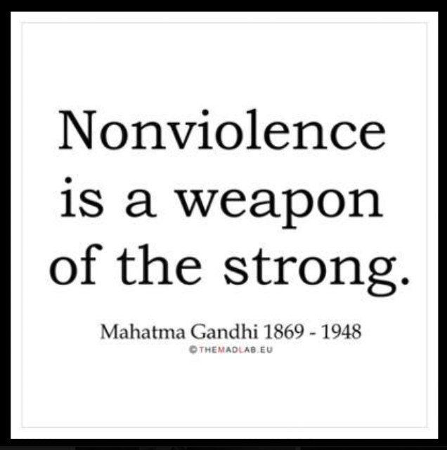 mahatma gandhi and nonviolent resistance essay Passive resistance mahatma gandhi first popularized  both king and gandhi were very persistent in their nonviolent tactics gandhi  gandhi essay final.