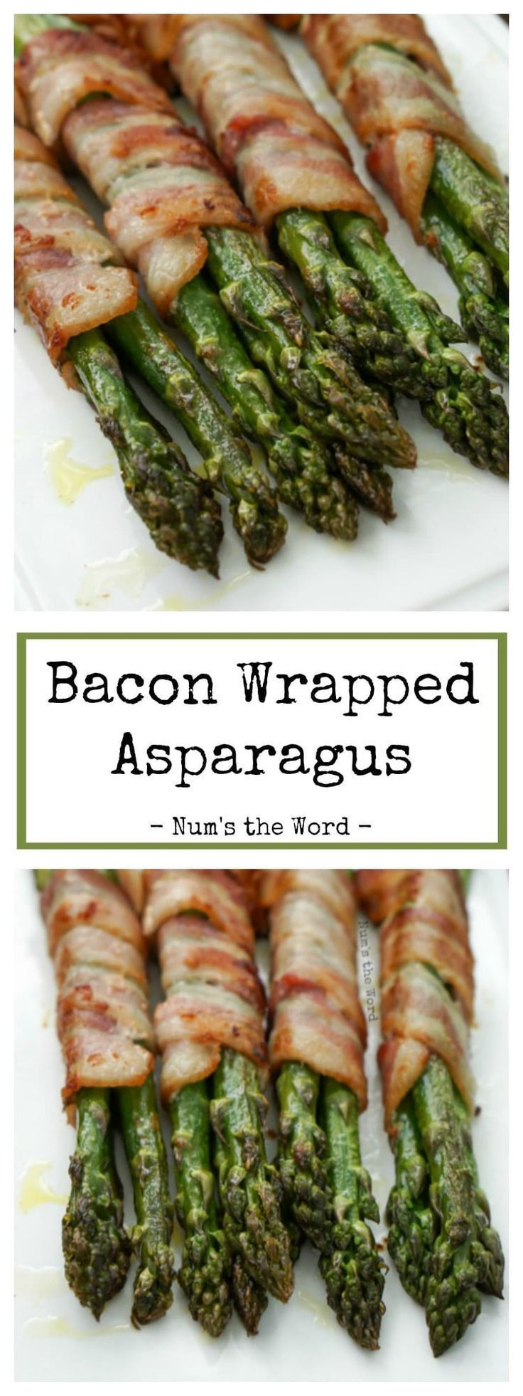 We love this Grilled Bacon Wrapped Asparagus! Perfect for grilling out with friends or when company is coming to dinner! You can grill or bake this asparagus, both taste great! An easy flavorful side dish even non asparagus lovers will like! -