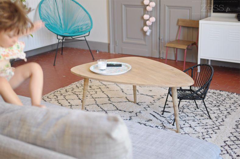 salon table basse tapis berbere