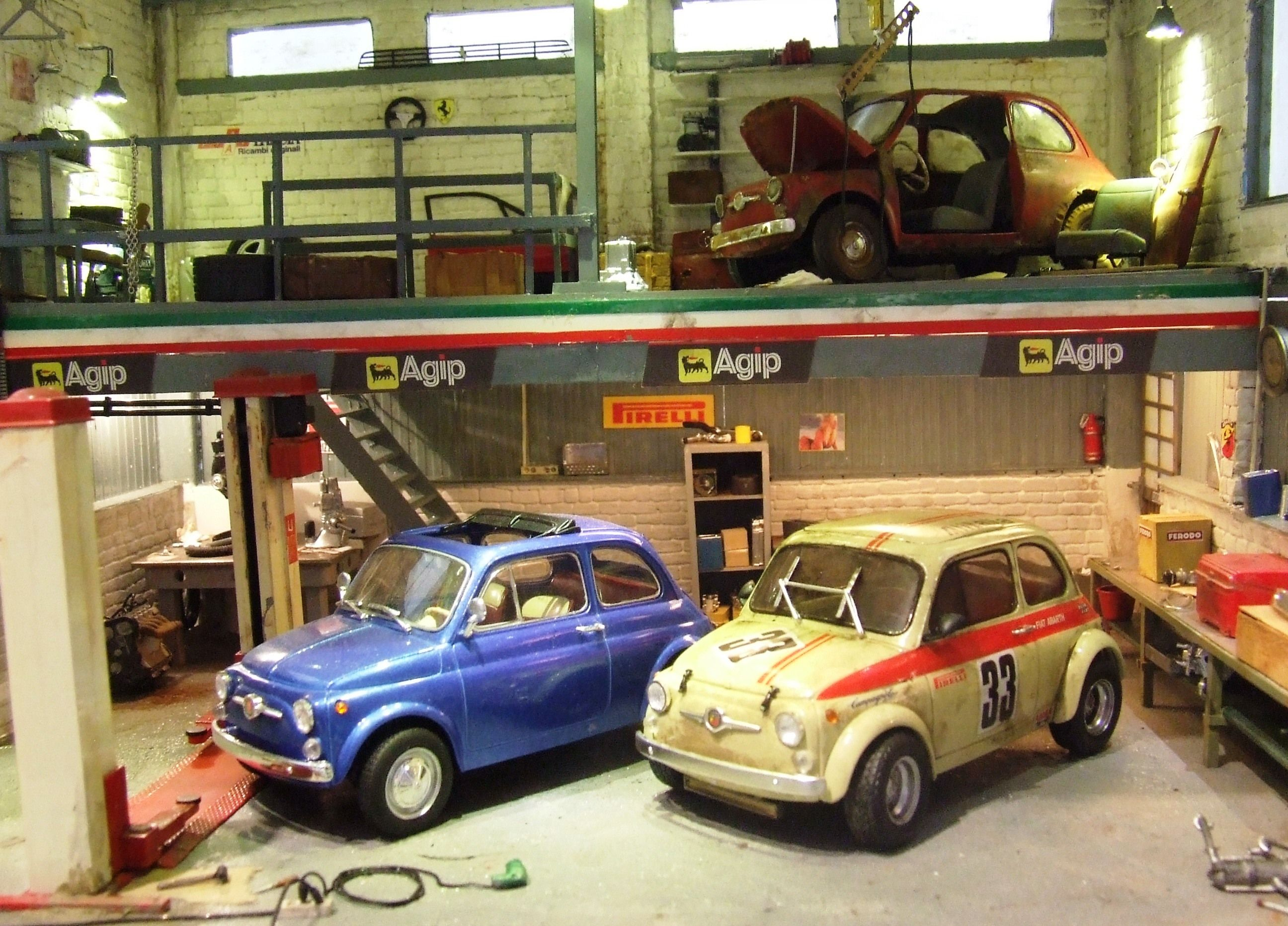 risultati immagini per diorami abarth modellismo scala 1 43 pinterest dioramas and scale. Black Bedroom Furniture Sets. Home Design Ideas