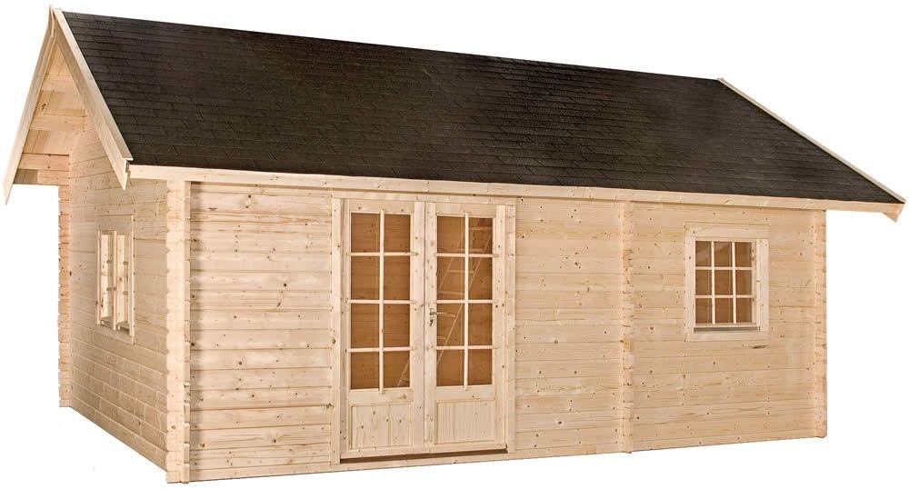 Blokhut / tuinhuisje model Caroline 585 / 44 mm met