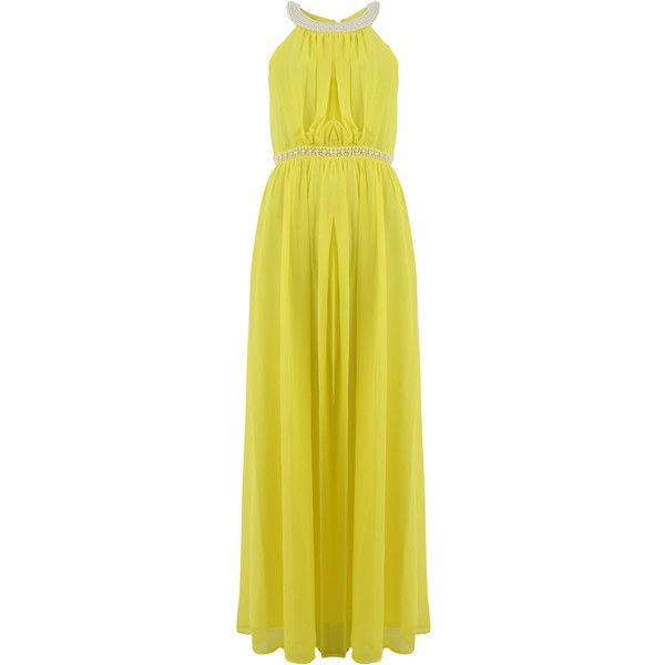 Fracomina yellow dress