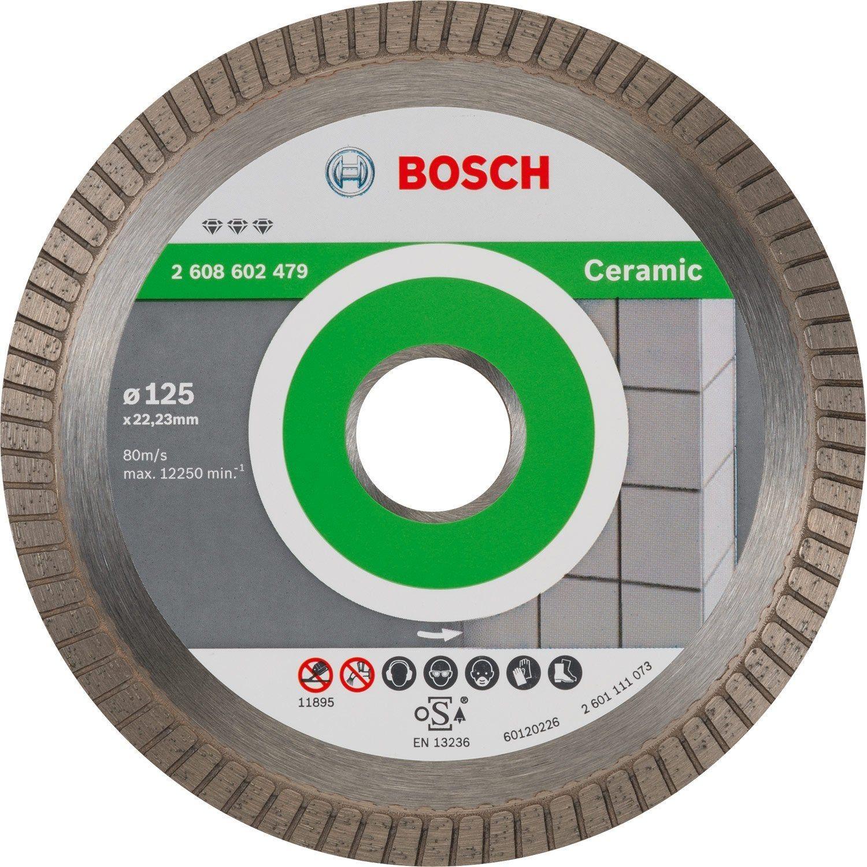 Disque Diamant Pour Pierre Bosch Diam 125 Mm Disque Diamant Bosch Et Disque