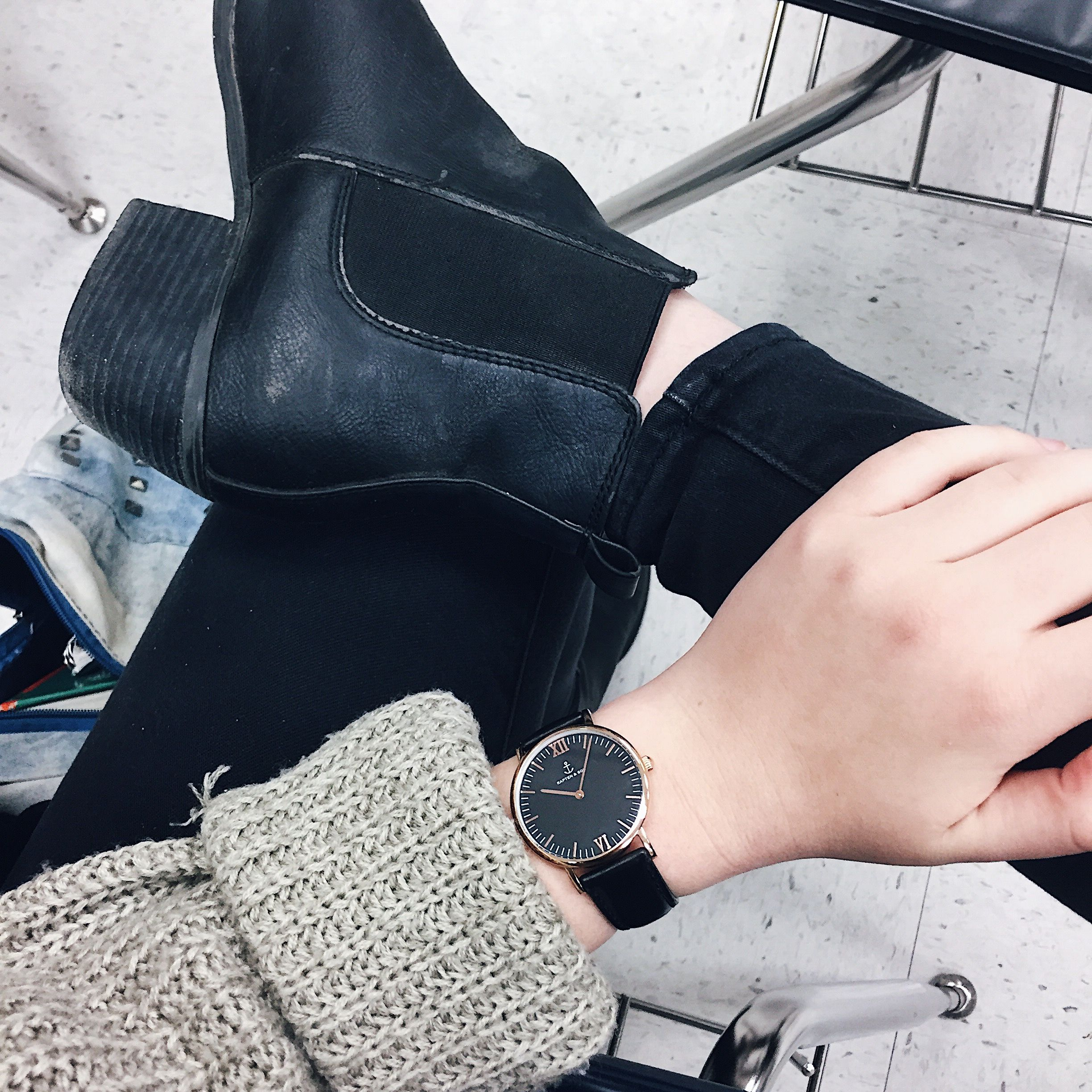 shop watches inspired by this look at http://kapten-son.com