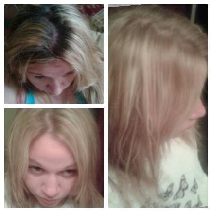 Lightening Hair With Hydrogen Peroxide Work In Progress