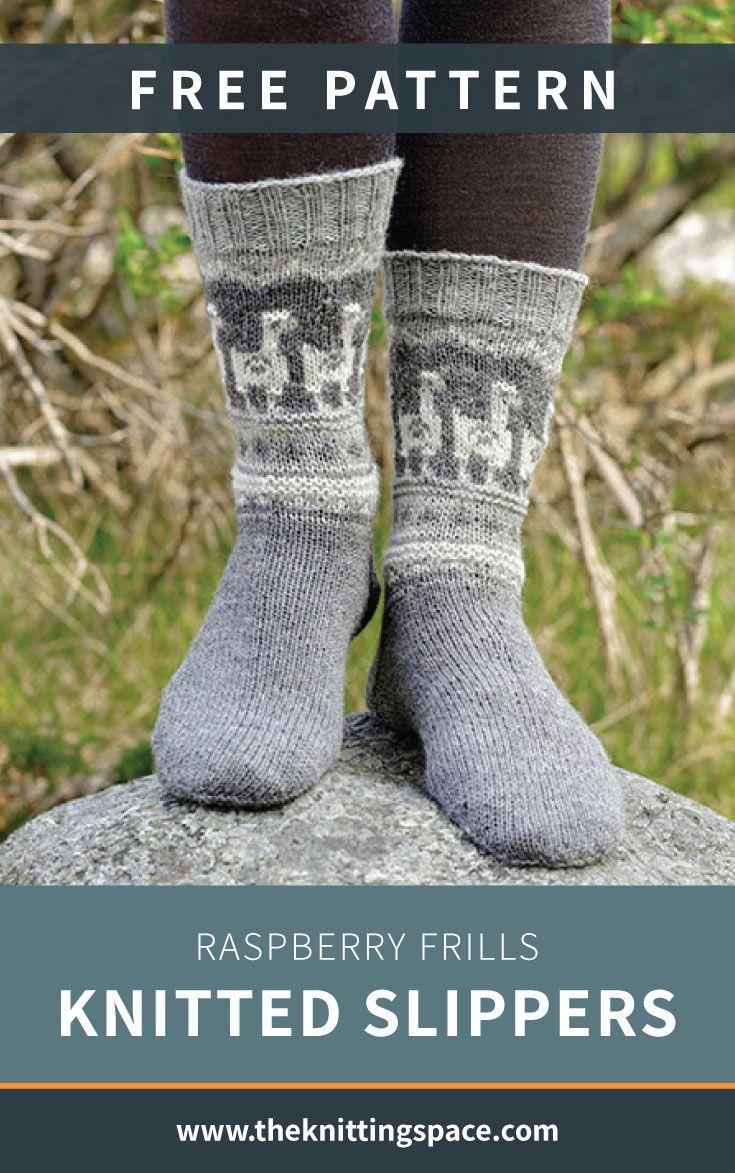 Andean Caravan Knitted Socks [FREE Knitting Pattern ...