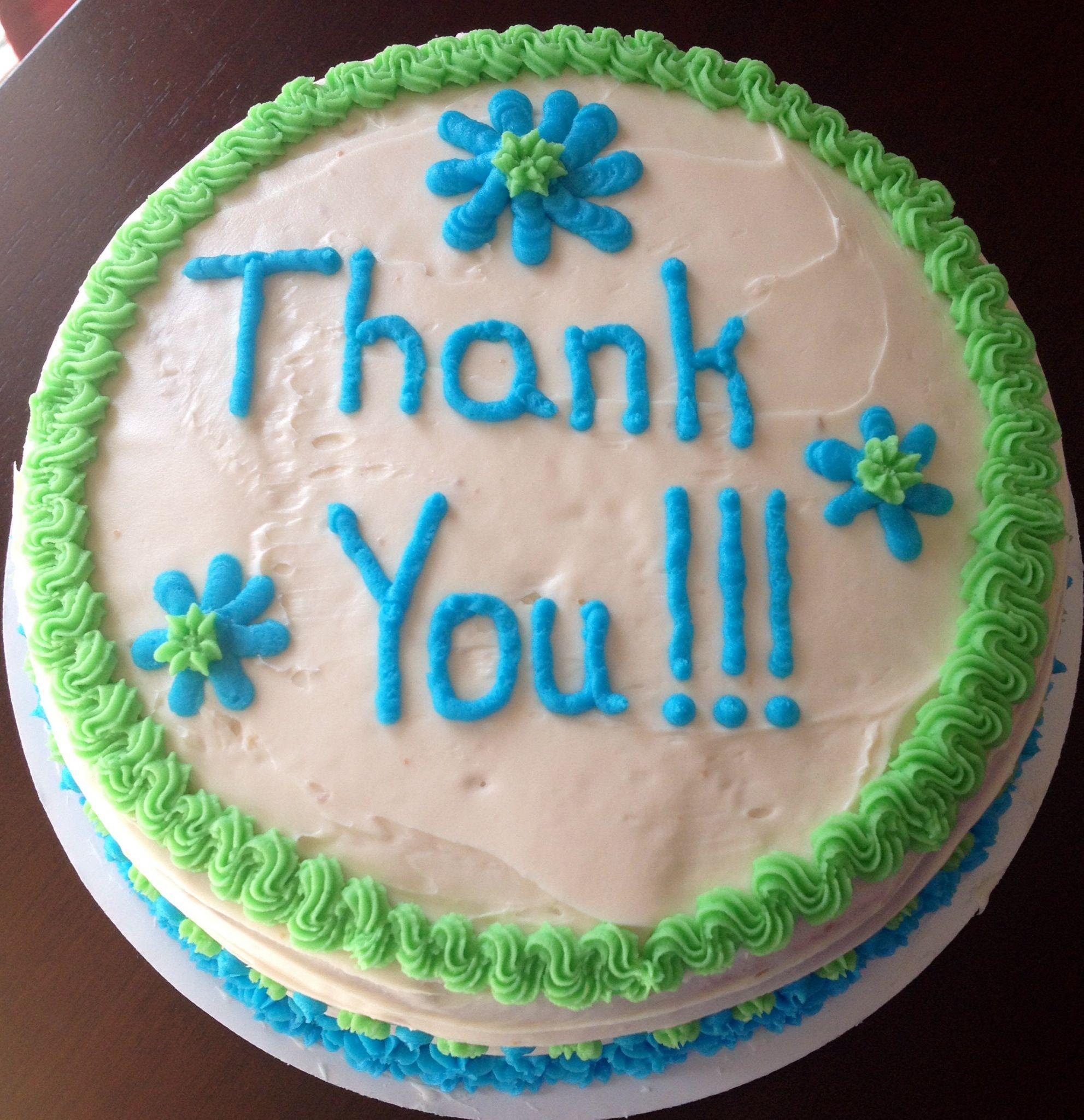 Thank You Cake 2