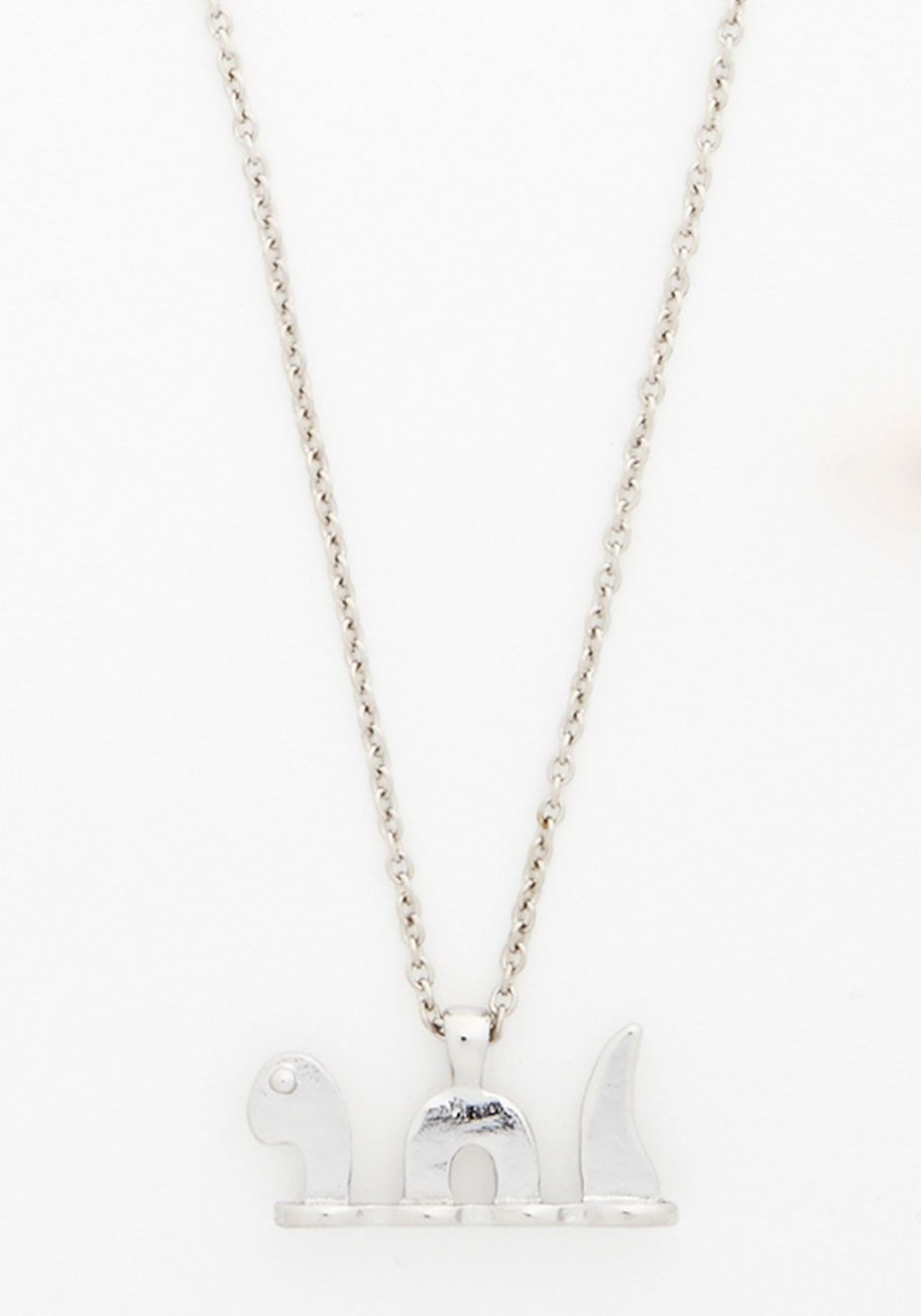 Nessie Chain and Earrings set