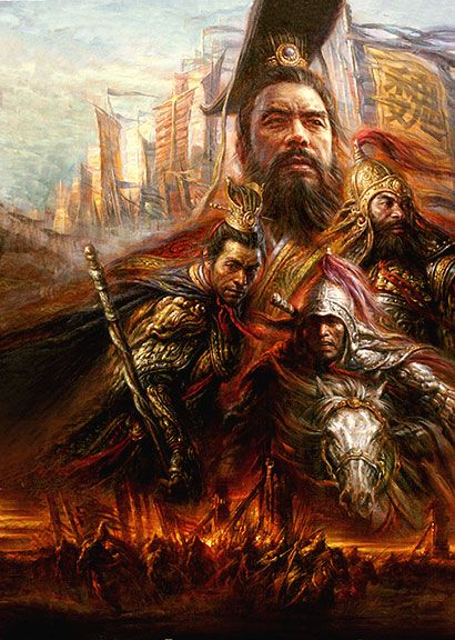 three kingdoms wallpaper - Google Search