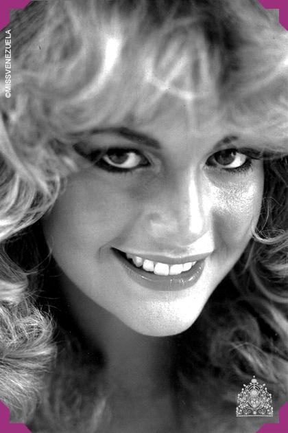 Irene Sáez Miss Miranda 1981 Miss Fotogenia 1981 Miss Venezuela 1981 Miss Universo 1981 El Periodista Abelardo Raidi Fu Beauty Beauty Pageant Beauty Women
