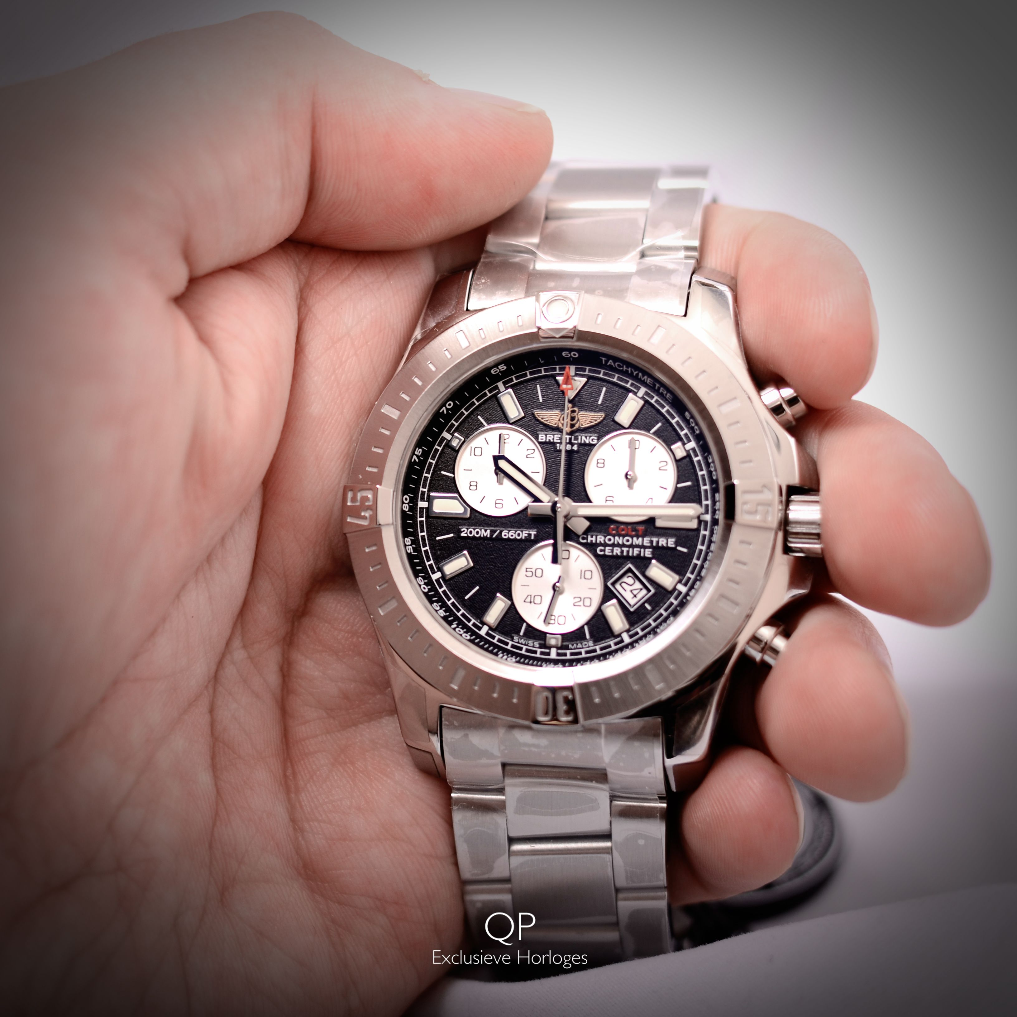 The all new Breitling Colt Chronograph is equipped with ...