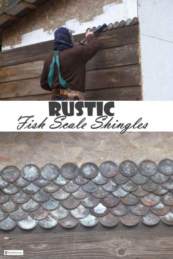 Best Rustic Fish Scale Shingles Classic Cedar Shingle Pattern Reimagined In 2020 Roofing Felt 400 x 300