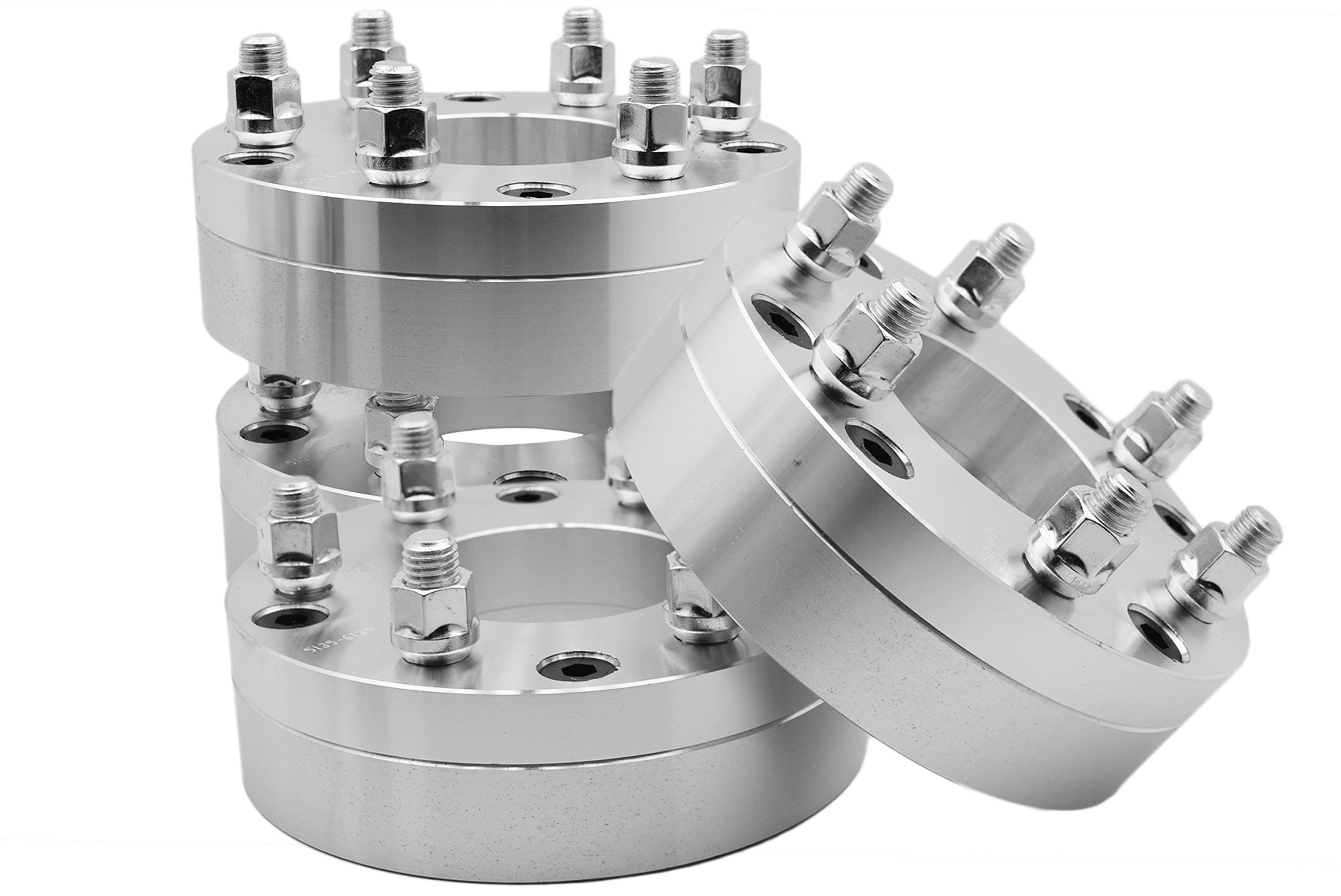 4 Pc 5x5 To 6x5 5 5 Lug To 6 Lug Wheel Spacers Adapters