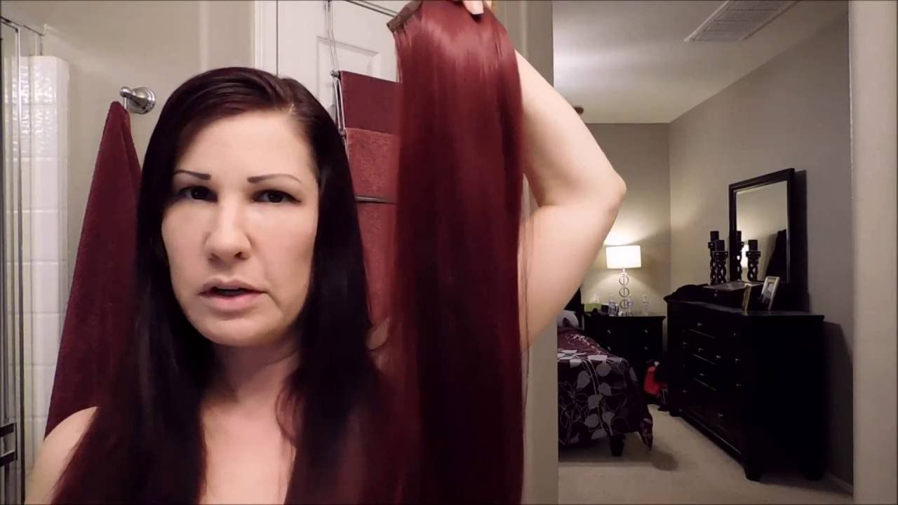 How To Put On A Wrap Around Ponytail Extension Hair And Beauty