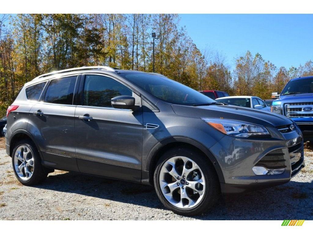 2014 Ford Escape Titanium Sterling Gray Metallic 2014 Ford
