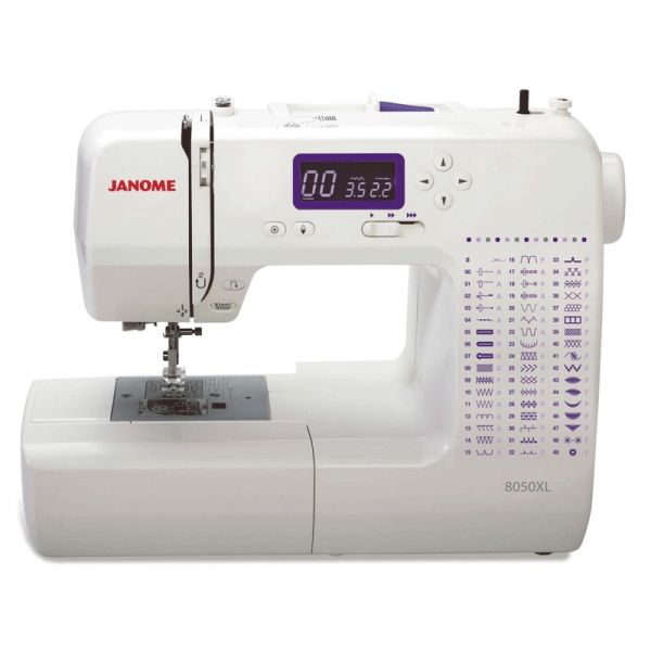 Janome 8050XL - Buy Online | Sewing machine, Computerized ...