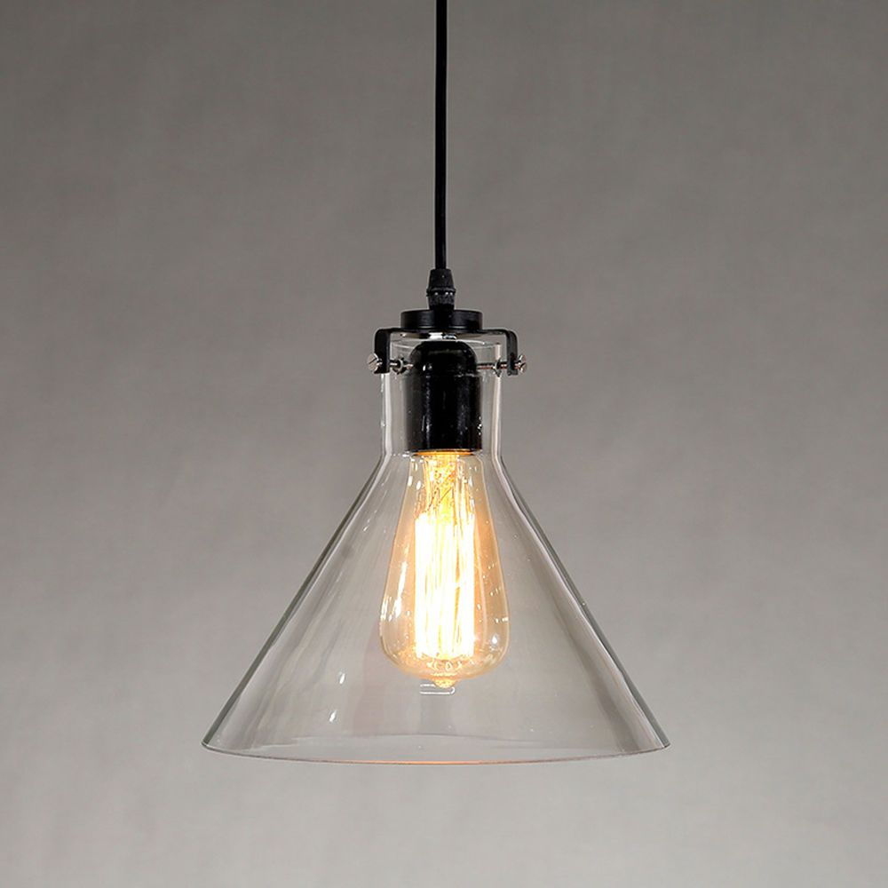 Industrial vintage glass lamp shade pendant ceiling light fixture industrial vintage glass lamp shade pendant ceiling light fixture lampshade lamp aloadofball Images