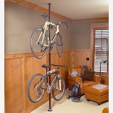 Topeak Floor To Ceiling Rack Display Stands /& Racks-Black-Bike Storage Rack-New