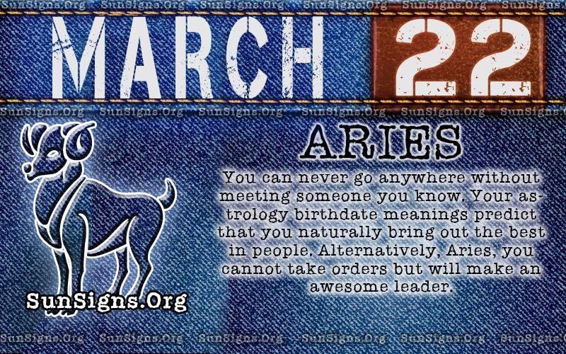 March 22 Birthday Birthday Personality Birthday Horoscope Flirting Quotes