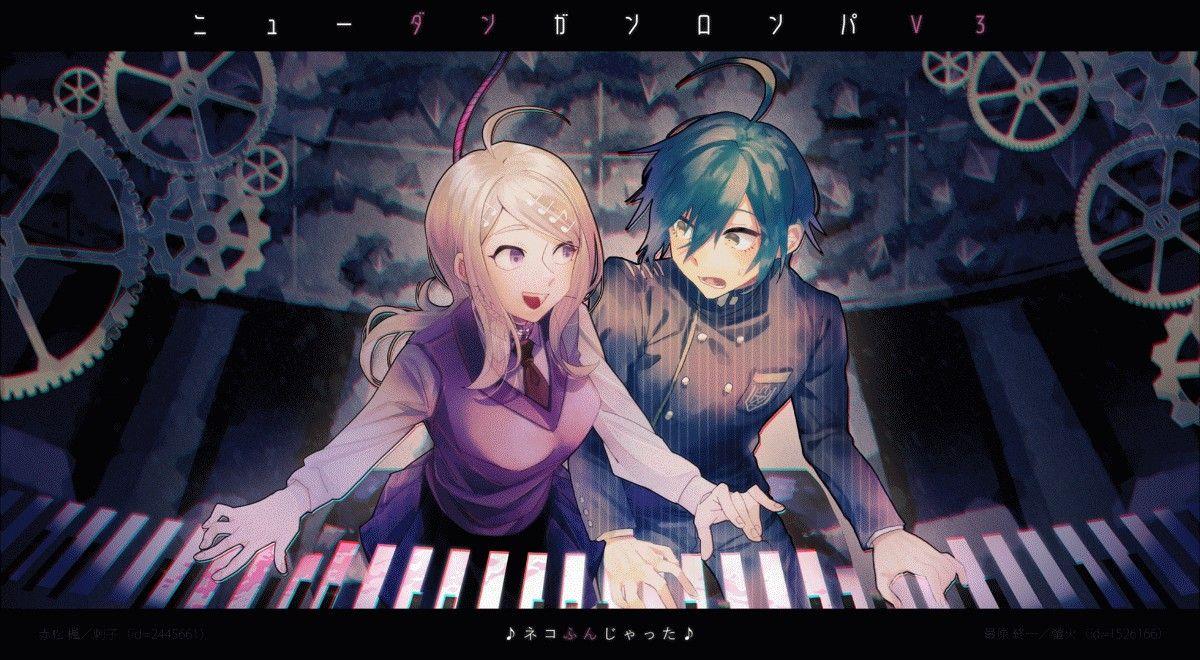 Shuichi x Kaede Danganronpa characters, Danganronpa, Anime